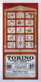 Il Florilegio di Darix Togni Circus poster - Italy, 1990