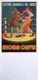 Circo Moira Orfei Circus poster - Italy, 1979
