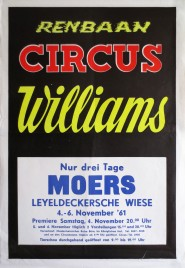 Circus Williams Circus poster - Germany, 1961