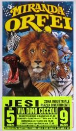 Circo Miranda Orfei Circus poster - Italy, 2009