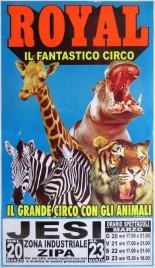 Royal Circus Circus poster - Italy, 2008