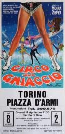 Circo sul Ghiaccio Circus poster - Italy, 1971