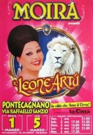 Circo Moira Orfei Circus poster - Italy, 2013