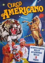 American Circus Circus poster - Italy, 1985