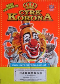 Cyrk Korona Circus poster - Poland, 2014