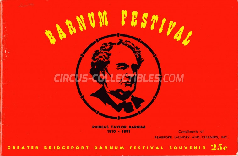 Barnum Festival Circus Program - USA, 1956