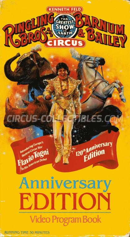 Ringling Bros. and Barnum & Bailey Circus Circus Program - USA, 1990