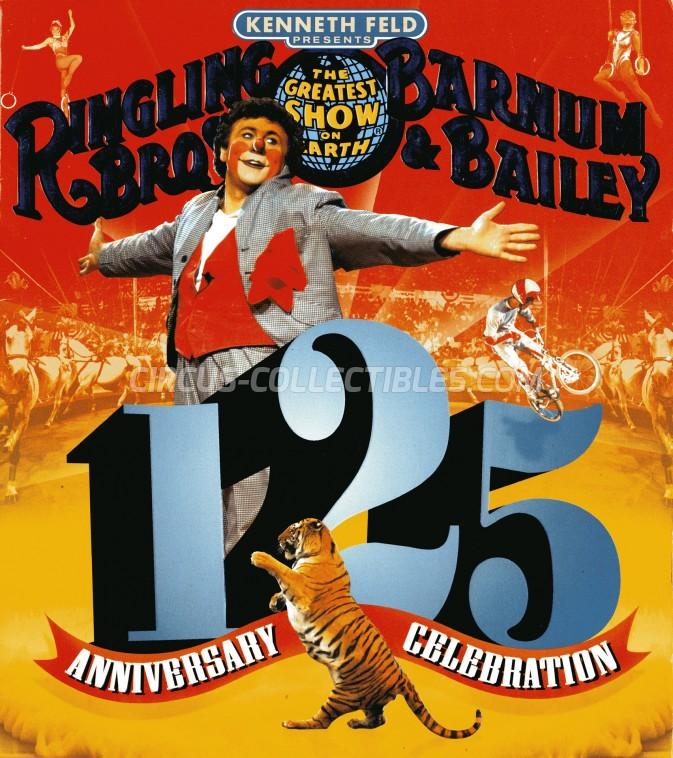 Ringling Bros. and Barnum & Bailey Circus Circus Program - USA, 1995