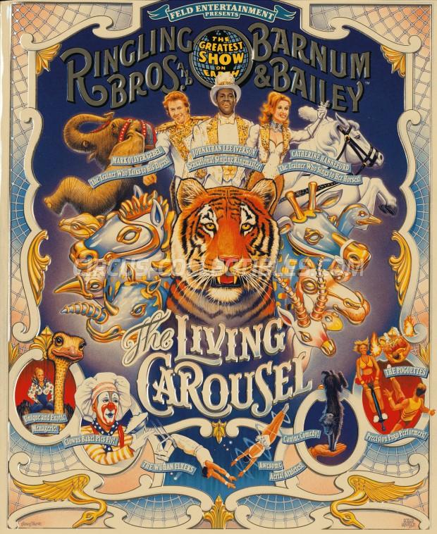Ringling Bros. and Barnum & Bailey Circus Circus Program - USA, 1999