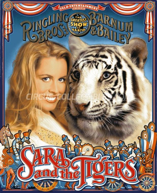 Ringling Bros. and Barnum & Bailey Circus Circus Program - USA, 2000