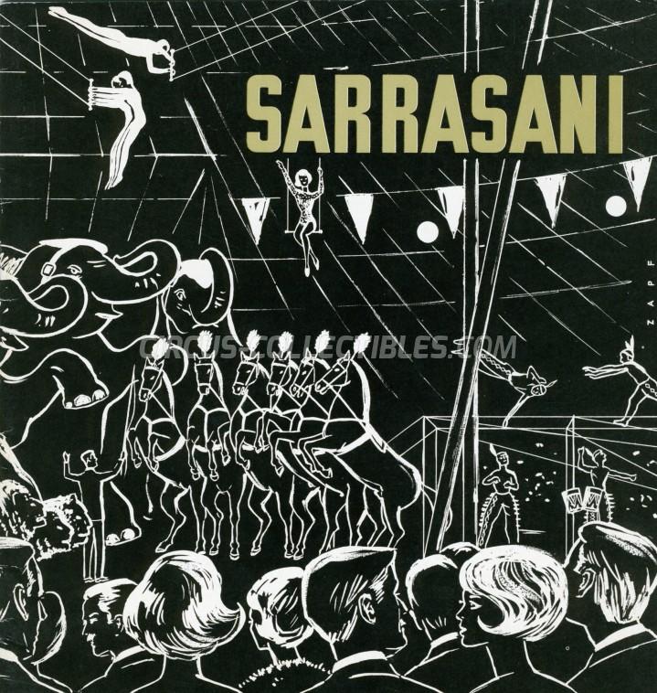 Sarrasani Circus Program - Germany, 1966