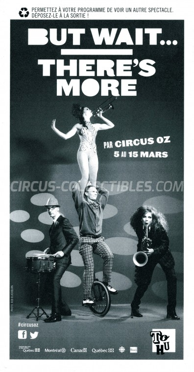 OZ Circus Program - Australia, 2015
