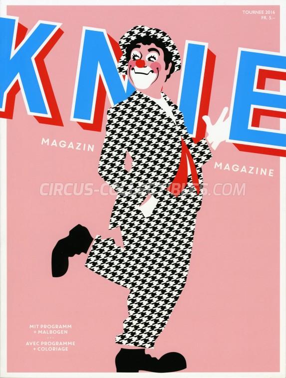 Knie Circus Program - Switzerland, 2016