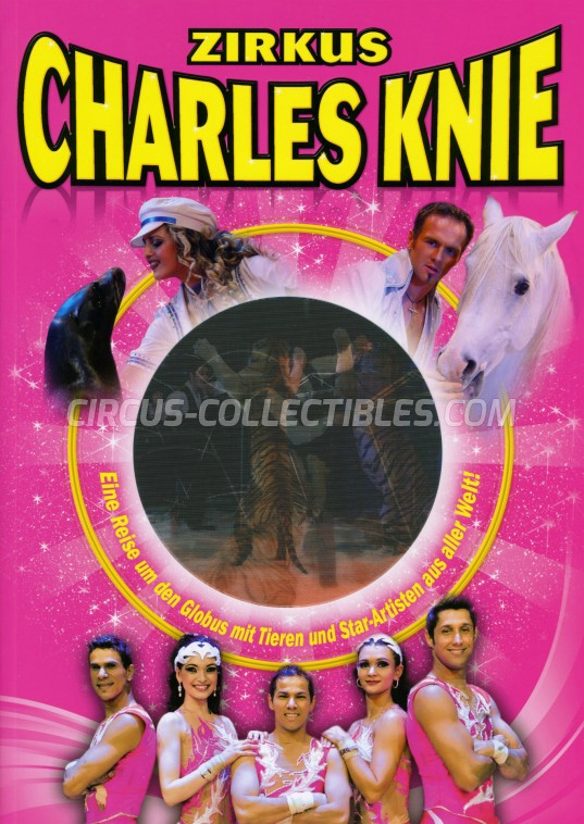 Charles Knie Circus Program - Germany, 2011