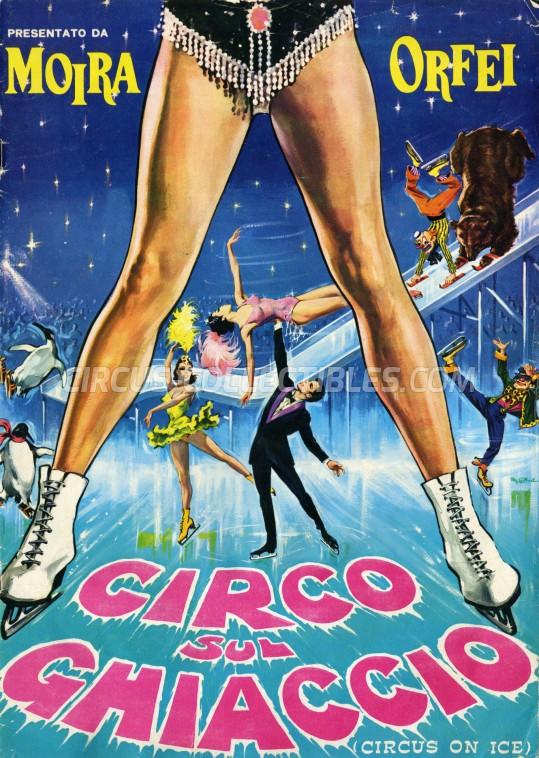 Moira Orfei Circus Program - Italy, 1972