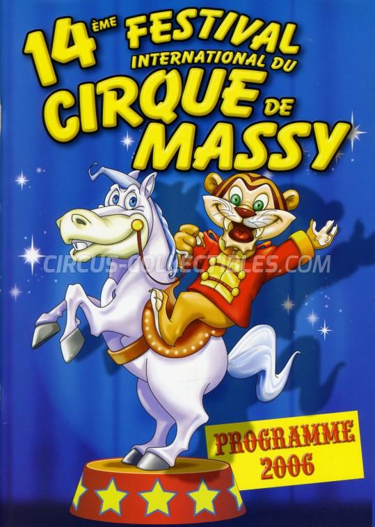 Festival International du Cirque de Massy Circus Program - France, 2006