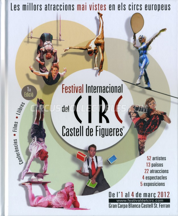 Festival International del Circ de Figueres Circus Program - Spain, 2012