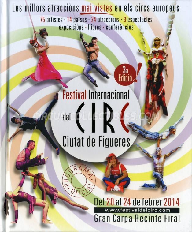 Festival International del Circ de Figueres Circus Program - Spain, 2014
