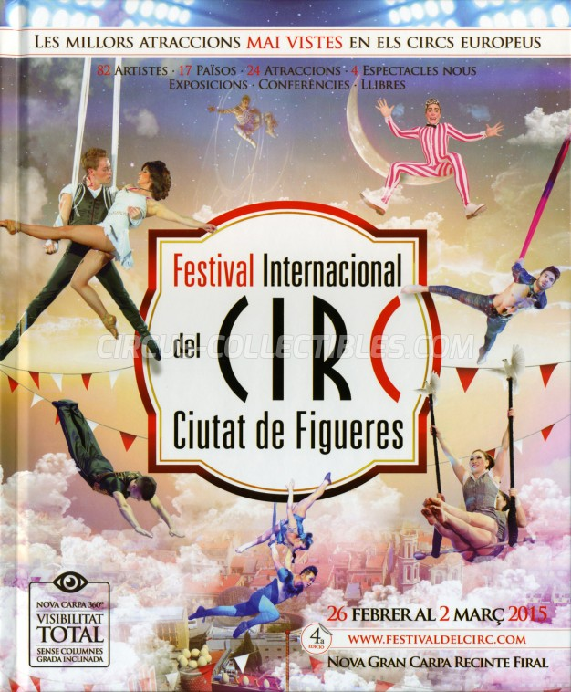 Festival International del Circ de Figueres Circus Program - Spain, 2015
