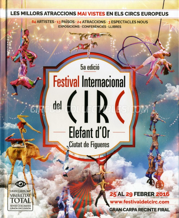 Festival International del Circ de Figueres Circus Program - Spain, 2016