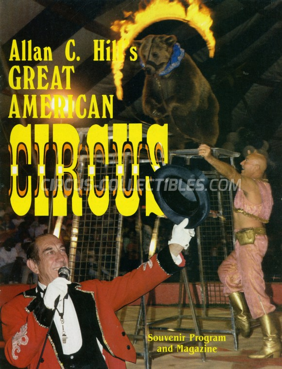 Great American Circus Circus Program - USA, 1989