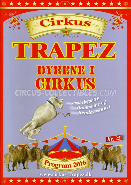 Trapez Circus Program - Denmark, 2016