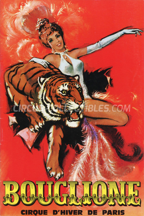 Bouglione Circus Program - France, 1970