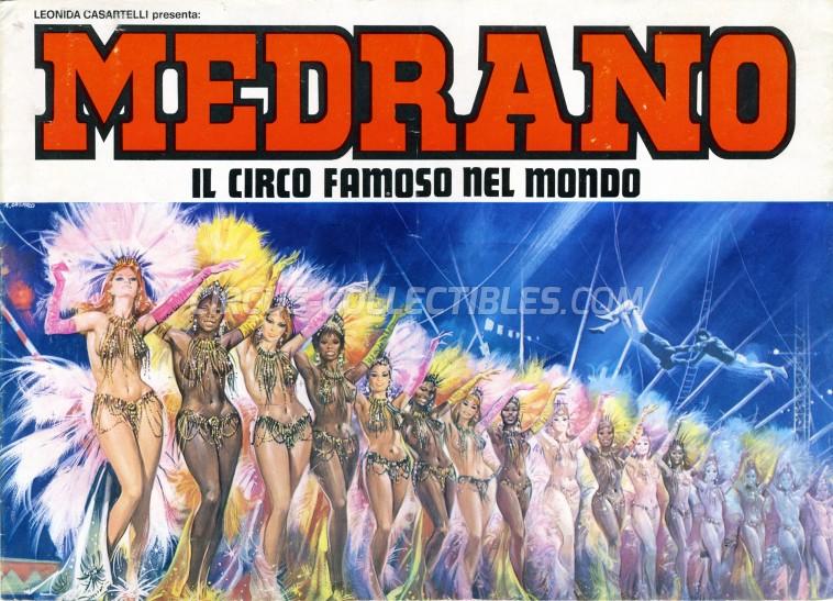 Medrano (Casartelli) Circus Program - Italy, 1974