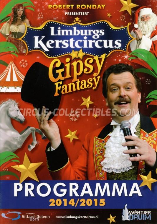 Limburgs Kerstcircus Circus Program - Netherlands, 2014