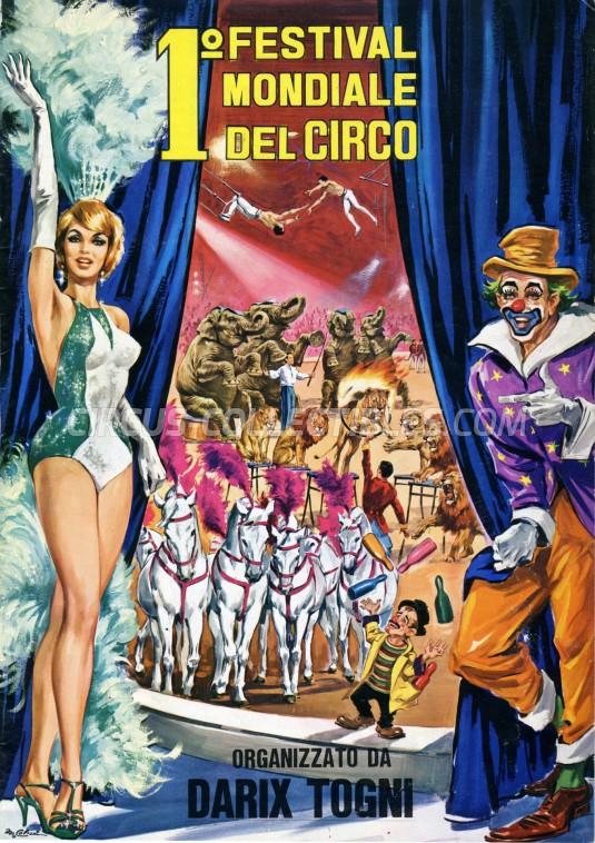 Darix Togni Circus Program - Italy, 1972
