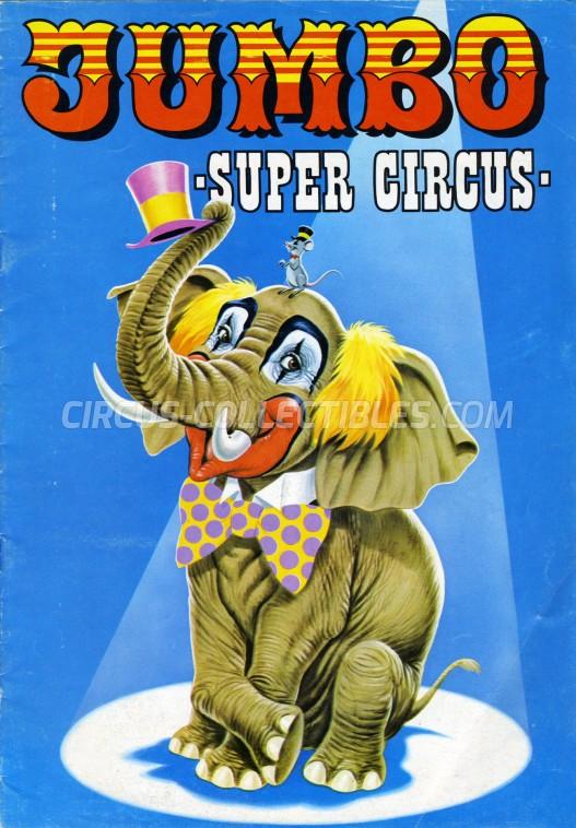 Darix Togni Circus Program - Italy, 1977