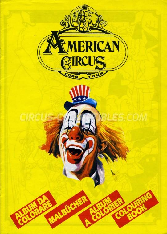 American Circus Circus Program - Italy, 0