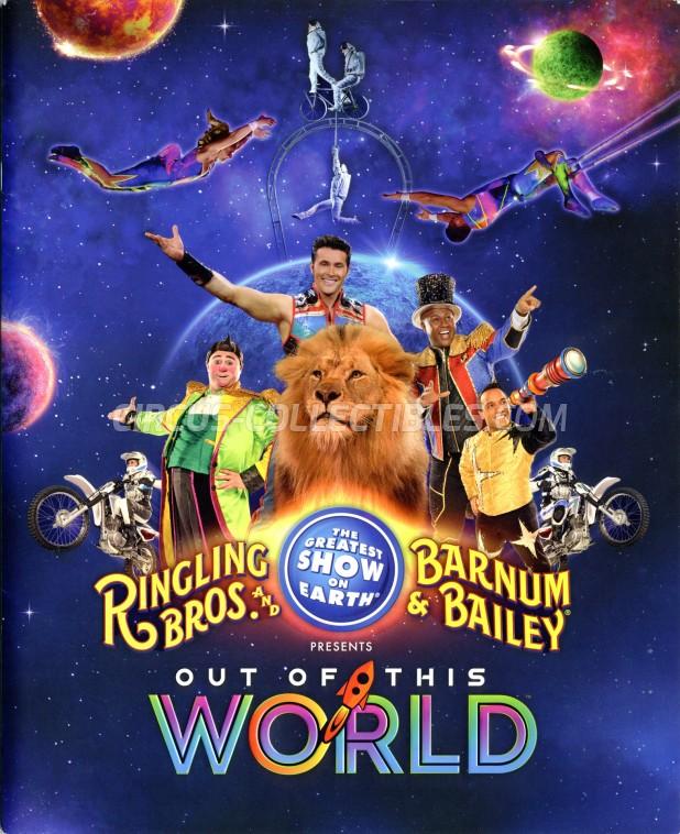 Ringling Bros. and Barnum & Bailey Circus Circus Program - USA, 2016