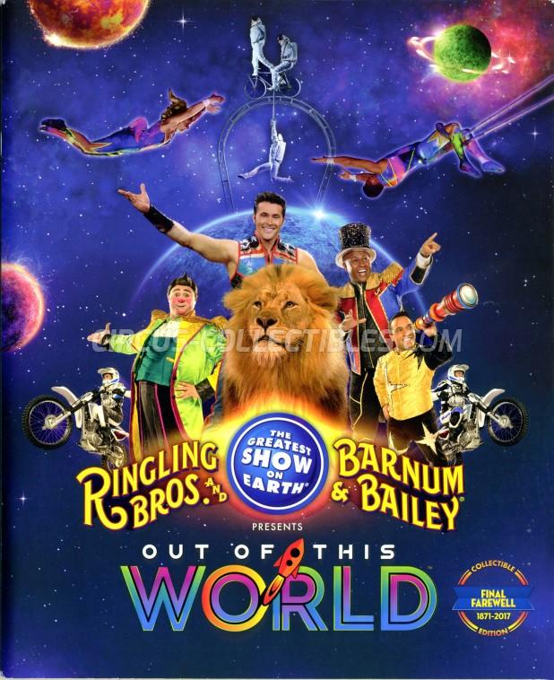 Ringling Bros. and Barnum & Bailey Circus Circus Program - USA, 2017