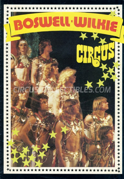 Boswell Wilkie Circus Circus Program - South Africa, 1981
