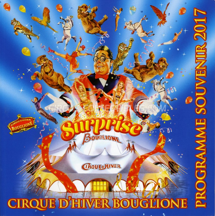 Bouglione Circus Program - France, 2017