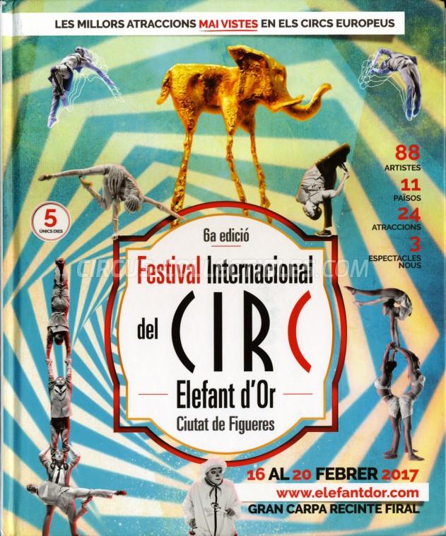 Festival International del Circ de Figueres Circus Program - Spain, 2017
