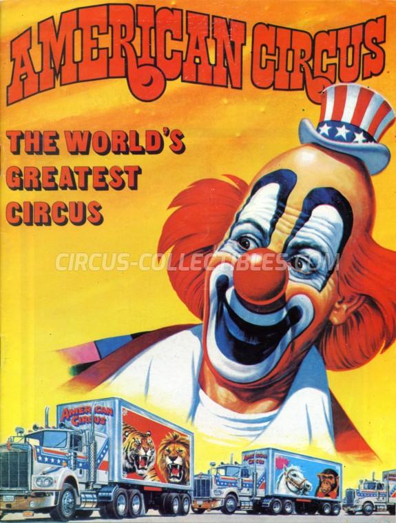 Cesare Togni Circus Program - Italy, 1983
