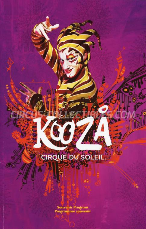 Cirque du Soleil Circus Program - Canada, 2016
