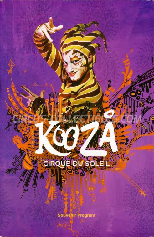 Cirque du Soleil Circus Program - Canada, 2017