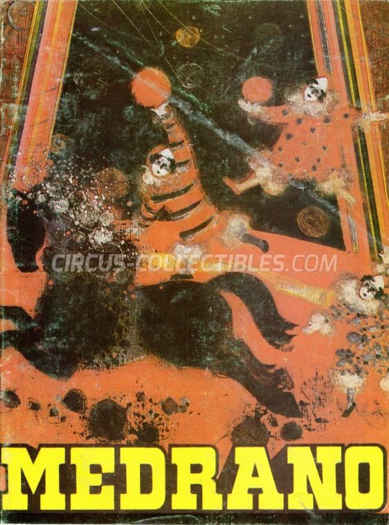 Medrano (Casartelli) Circus Program - Italy, 1993