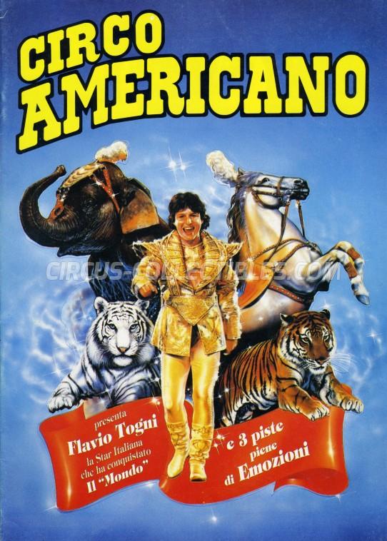 American Circus Circus Program - Italy, 1992