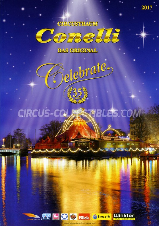 Conelli Circus Program - Switzerland, 2017