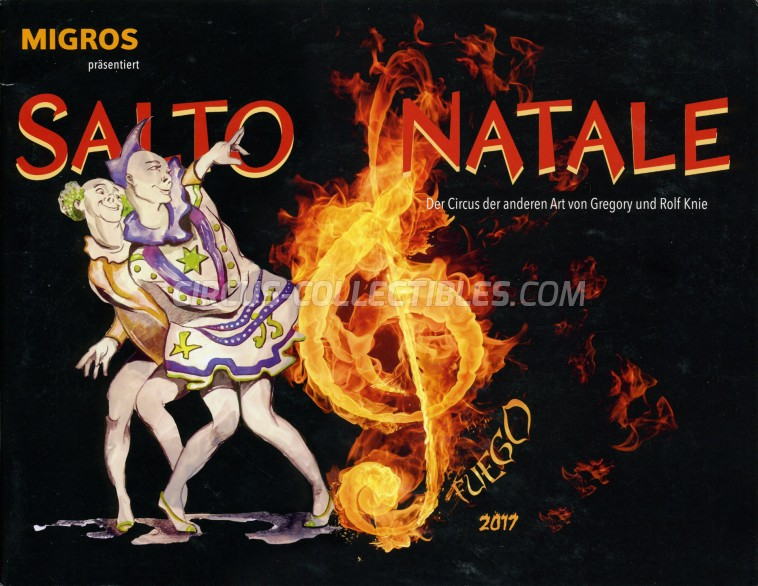 Salto Natale Circus Program - Switzerland, 2017