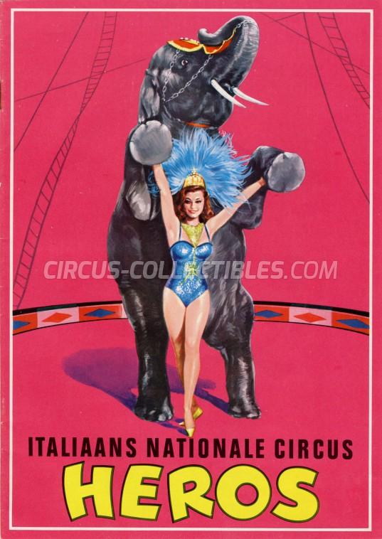 Heros Circus Program - Italy, 1966