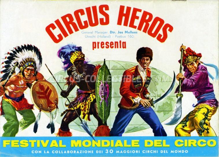 Heros Circus Program - Italy, 1968