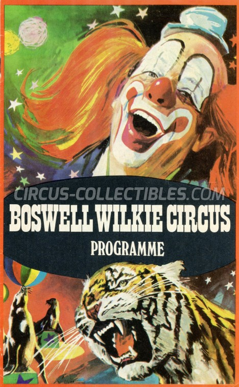 Boswell Wilkie Circus Circus Program - South Africa, 0