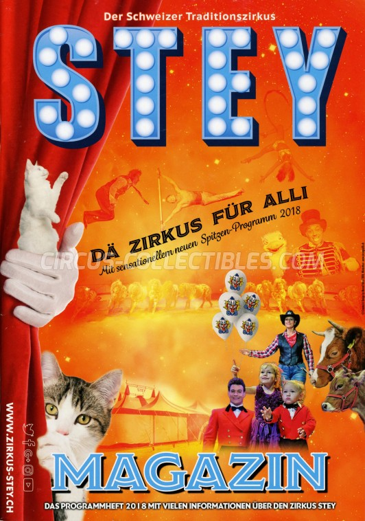 Stey Circus Program - Switzerland, 2018