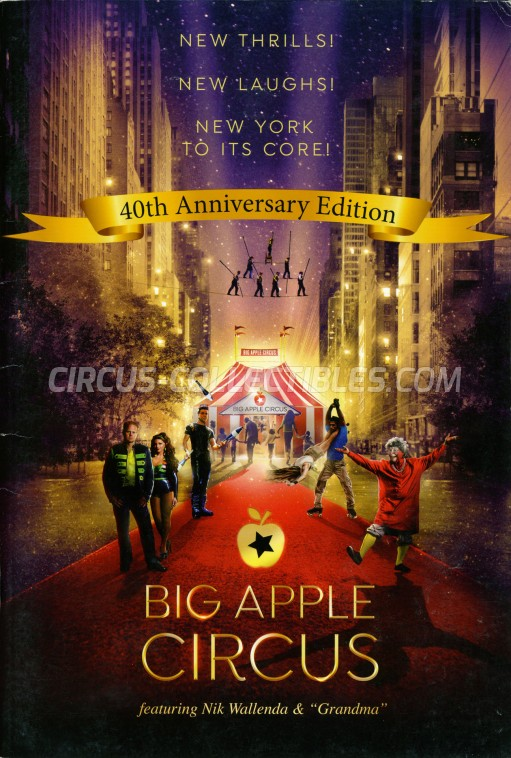 Big Apple Circus Circus Program - USA, 2017