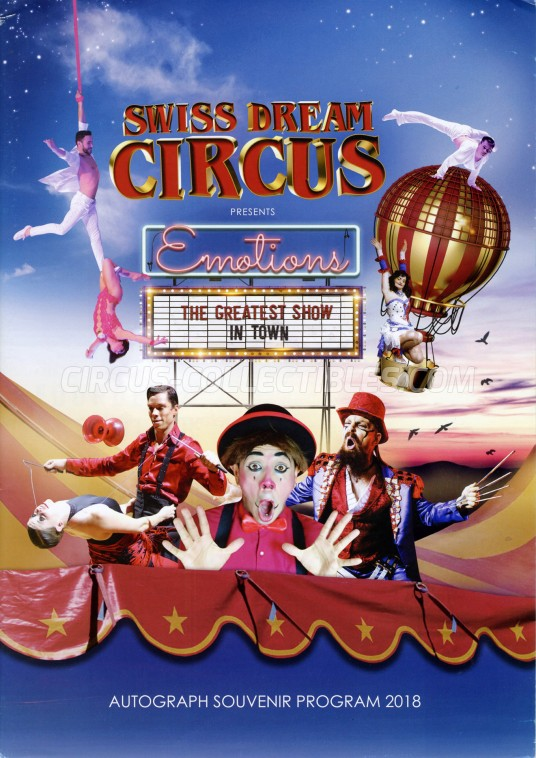Swiss Dream Circus Circus Program - Malaysia, 2018